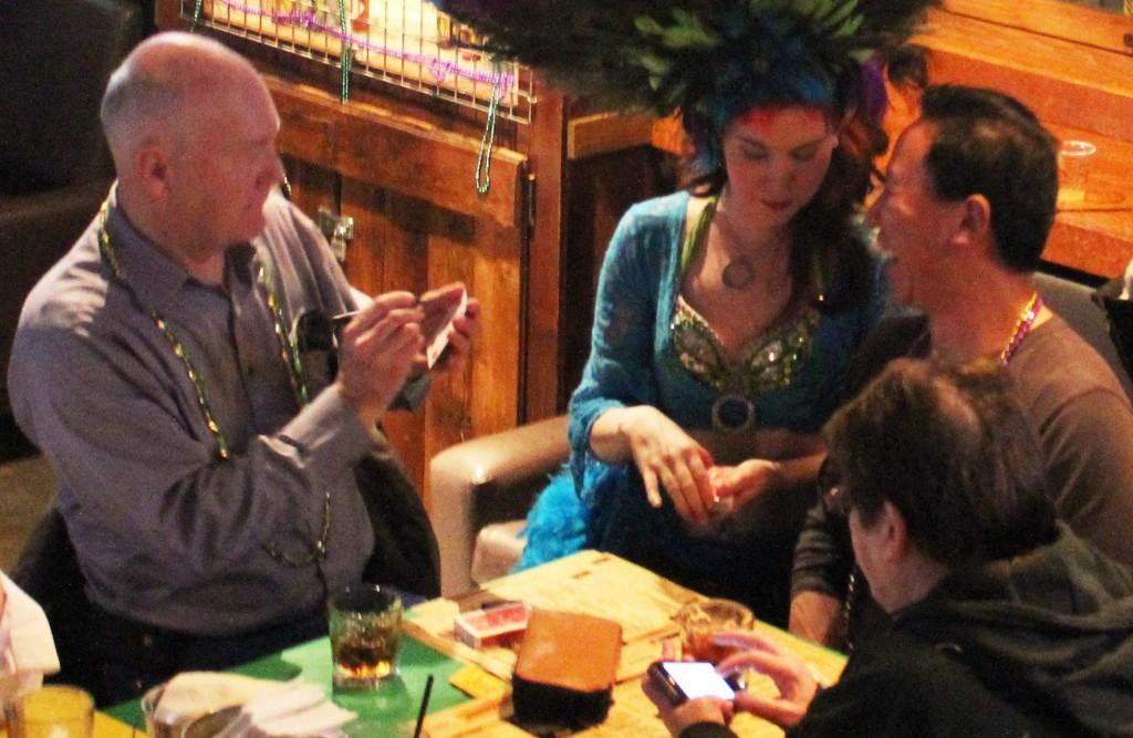Magician Showgirl Calgary Roving