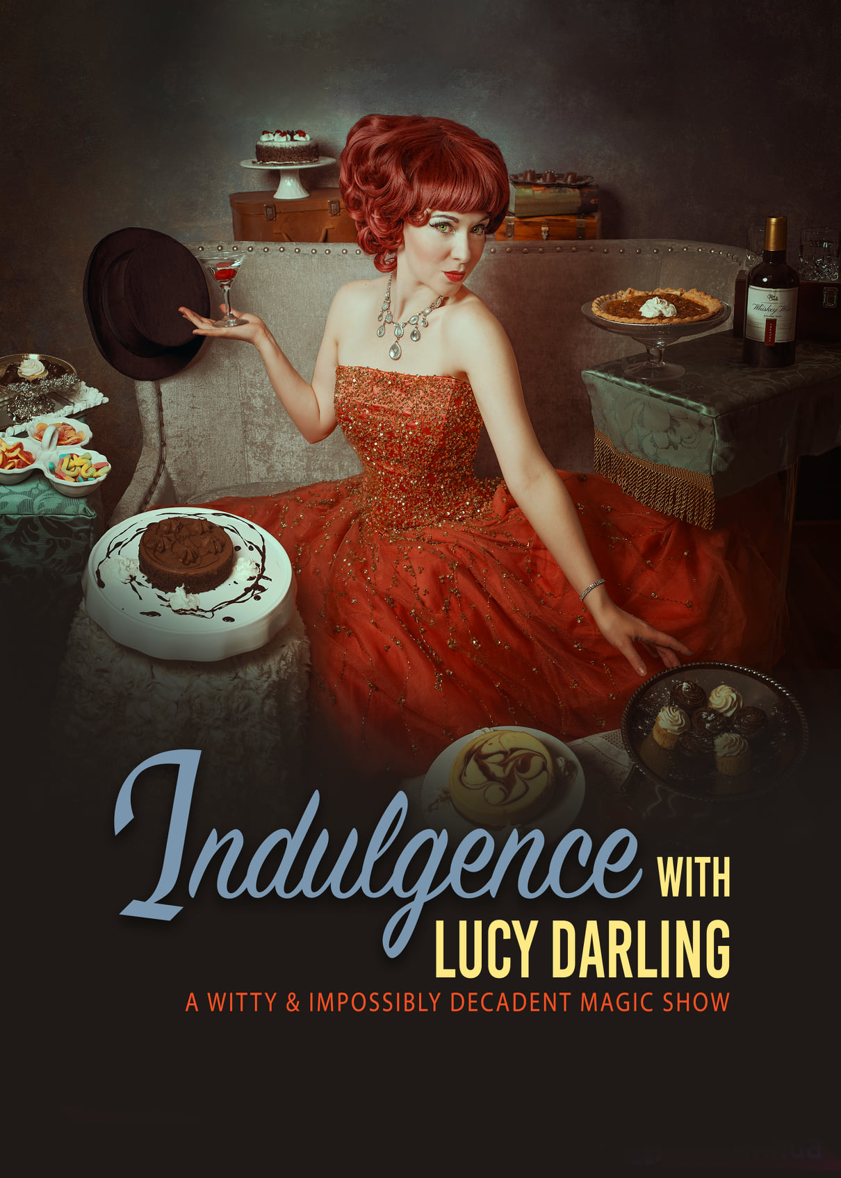 Announcing the Three Month Chicago Run of Indulgence with Lucy Darling