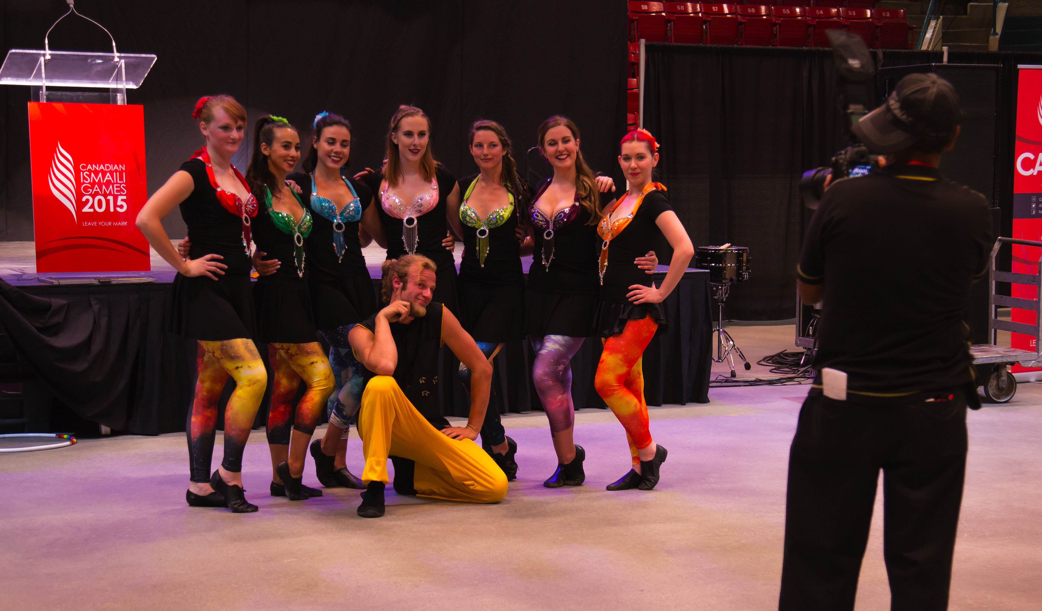 Our Fire Dancers at the 2015 Canadian Ismaili Games
