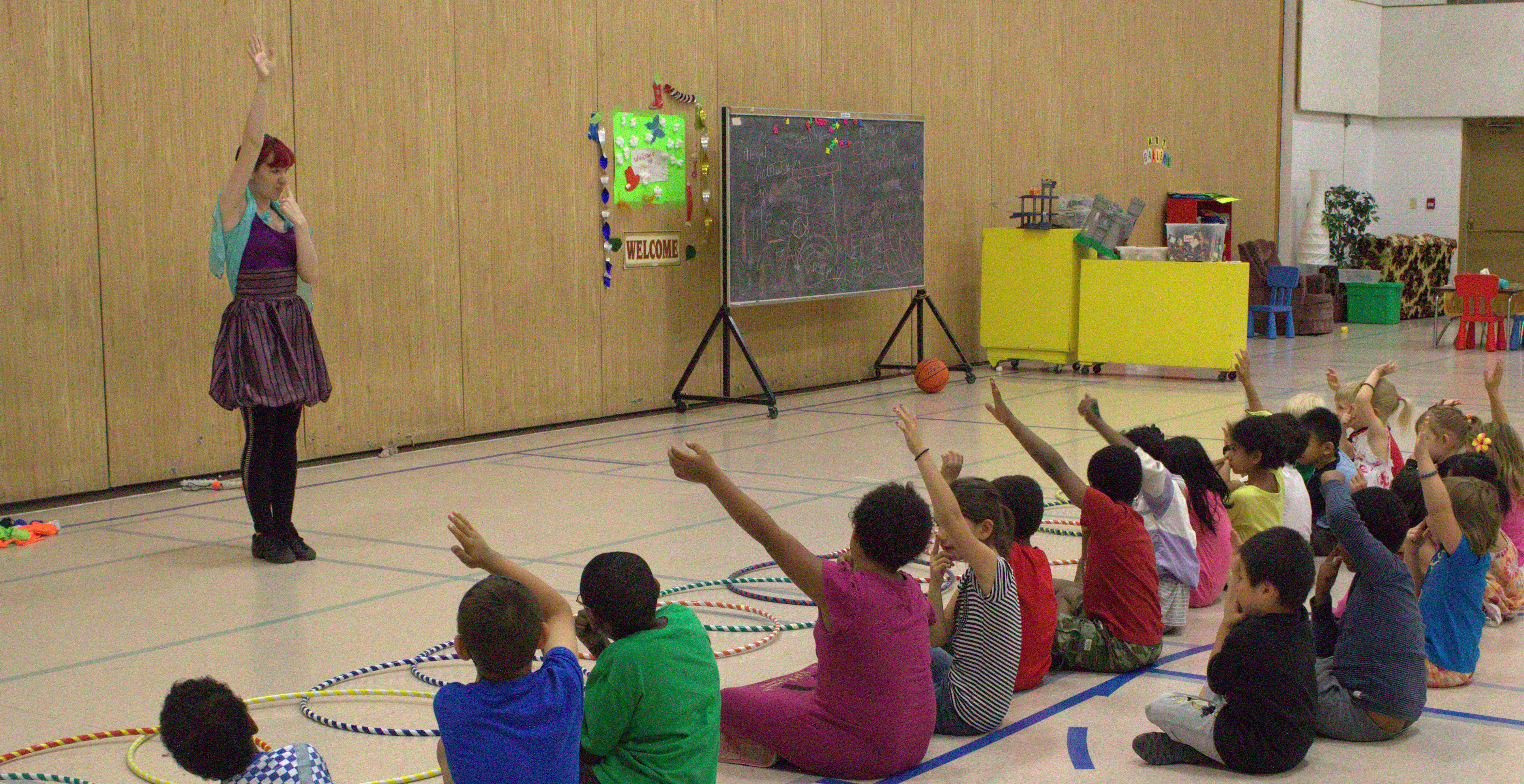 Calgary Circus Workshops for in Schools and Day Cares